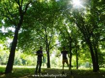 1 Kombat Spirit lectii private cu Peter in parc