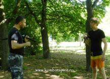 8 Kombat Spirit lectii private cu Peter in parc