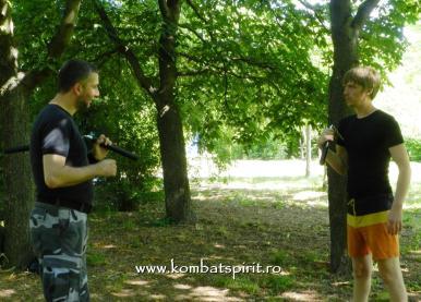 8 Kombat Spirit lectii private cu Peter in parc