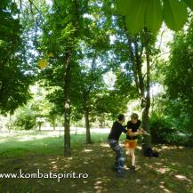 9 Kombat Spirit lectii private cu Peter in parc