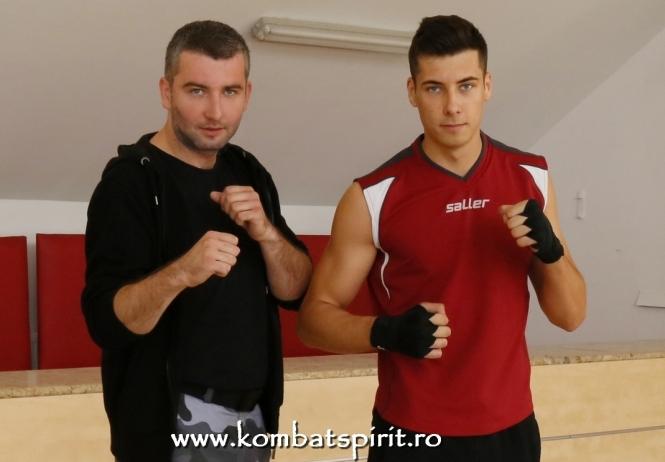 Campionatul National de Sanda Florin Miron Alexandru Cocan